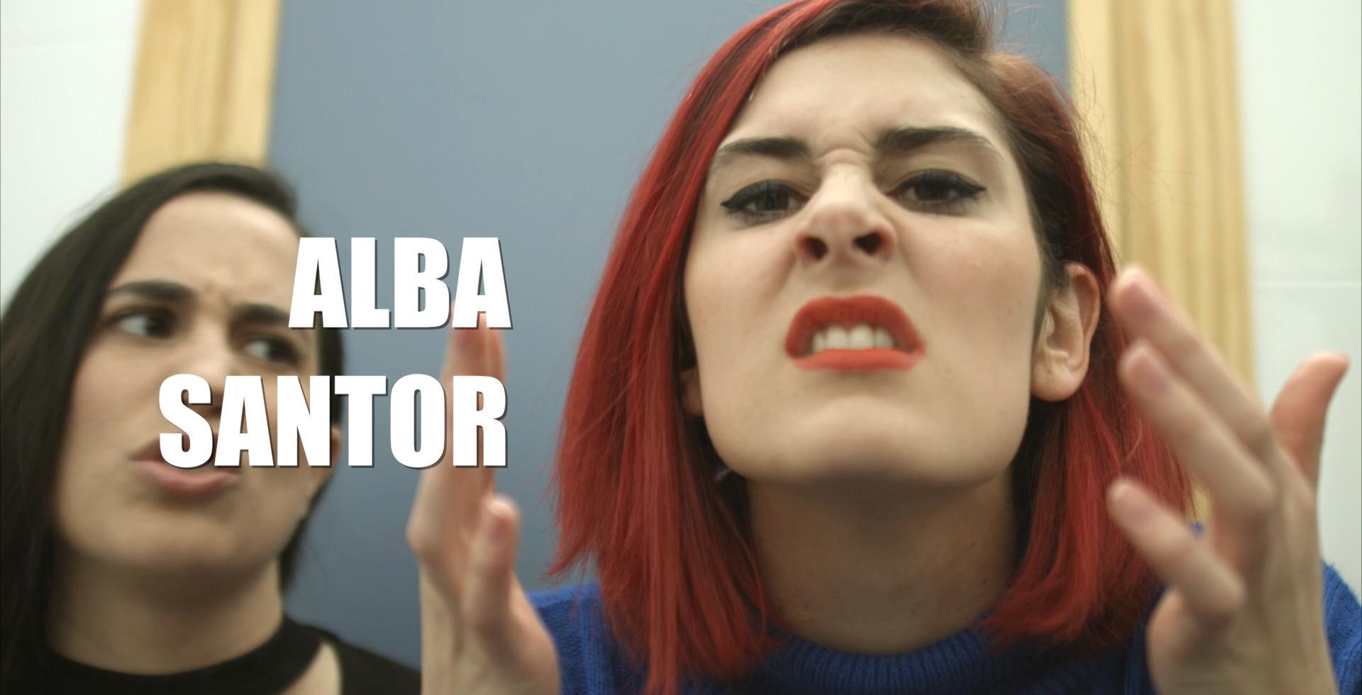 imagen del vídeo promocional Videobook Alba Santor