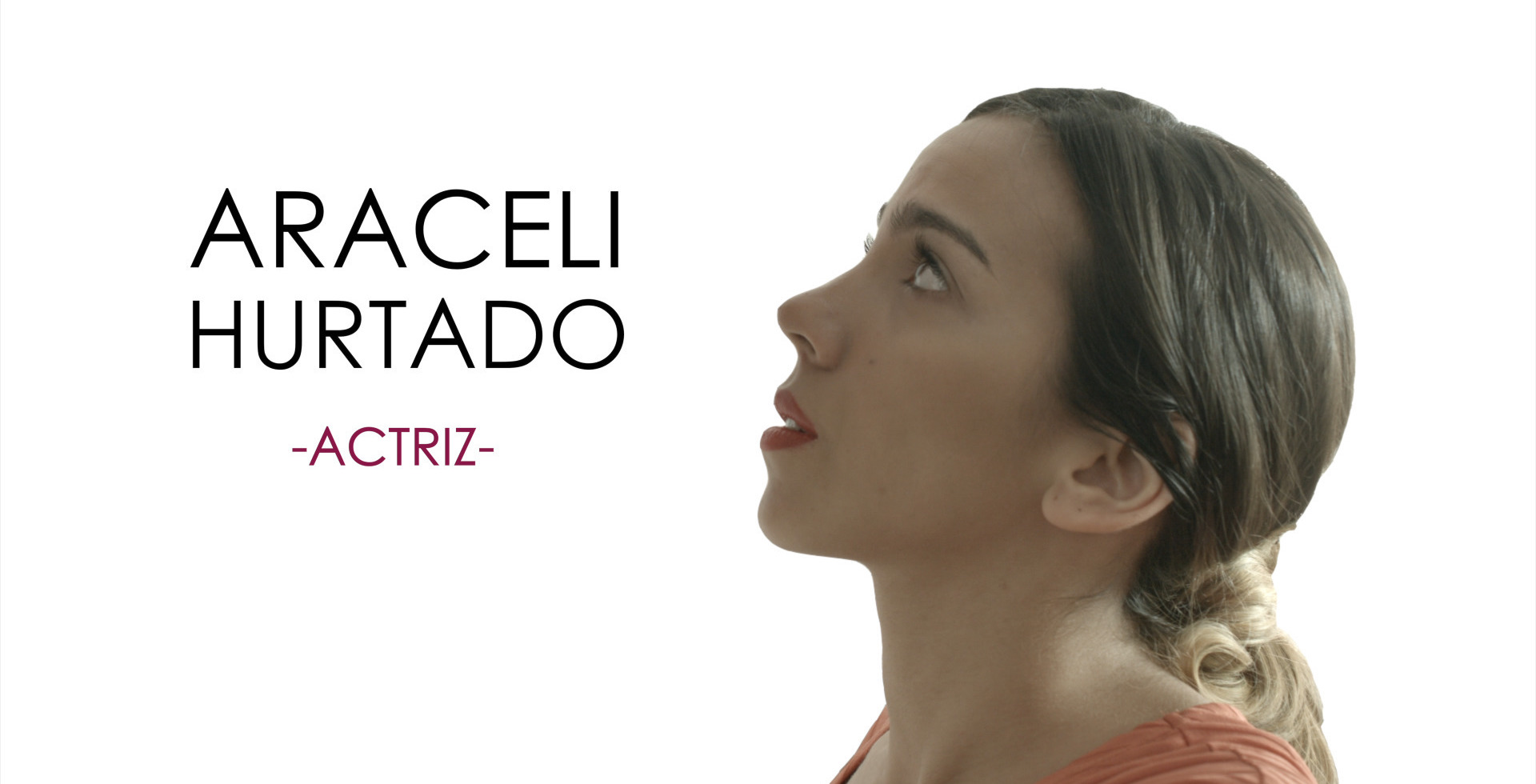 image of the videobook of the actress Araceli Hurtado