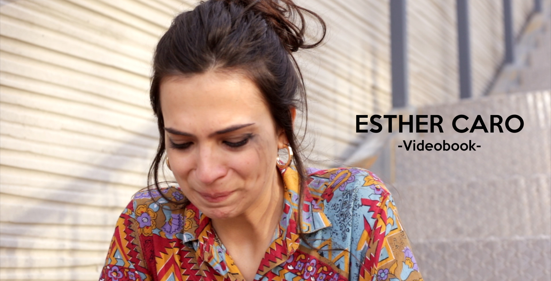 header image for the promotional video for the actress Esther Caro