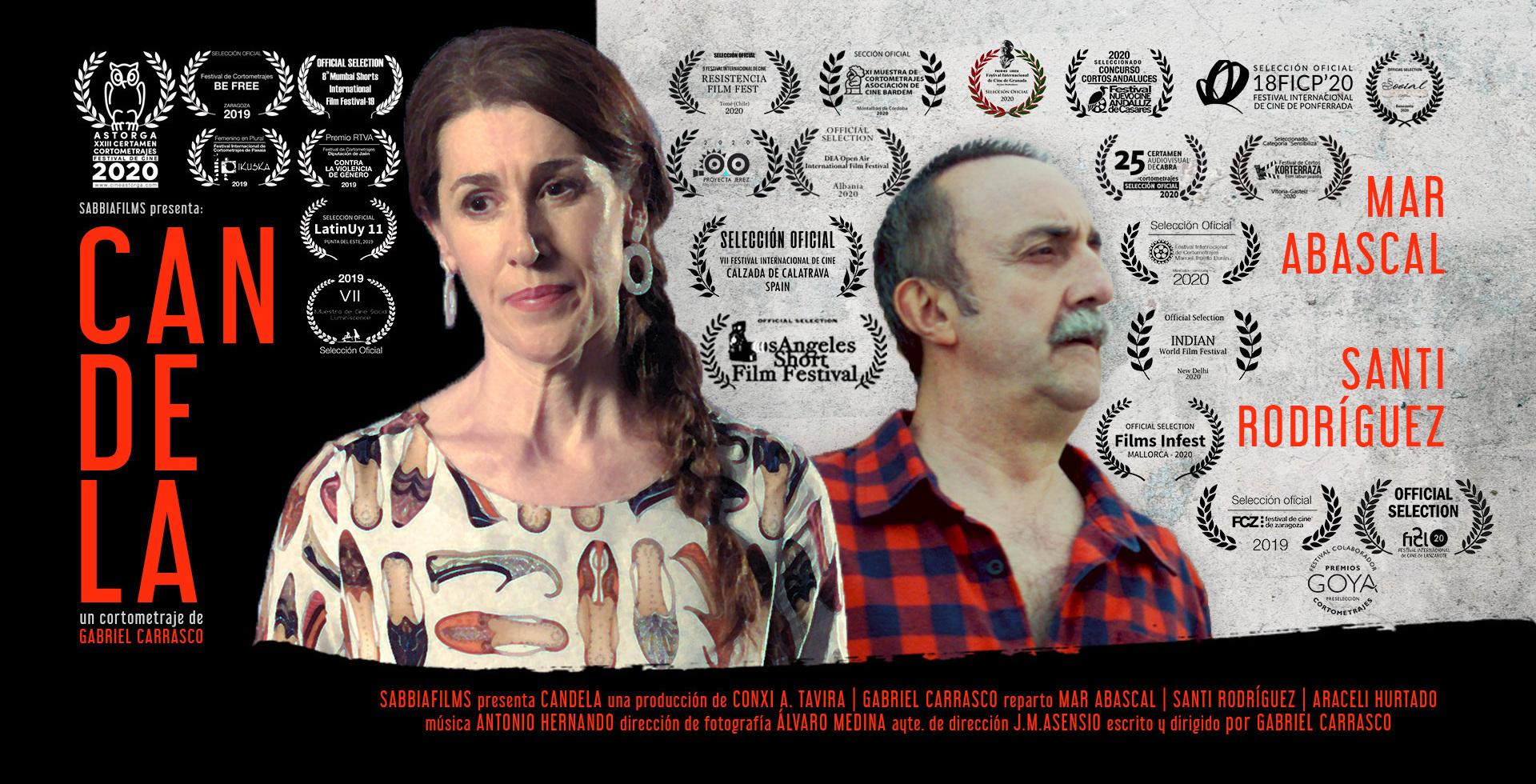 imagen de cabecera del cortometraje de ficción Candela